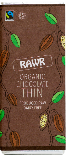 68% Organic Chocolate THIN (30g)
