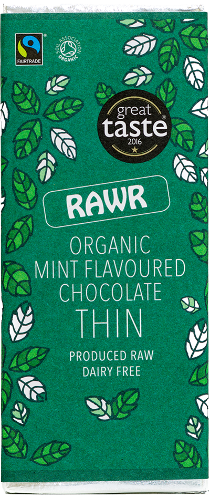 Organic Mint Chocolate THIN (30g)